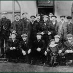 Browney Social Club, c. 1914